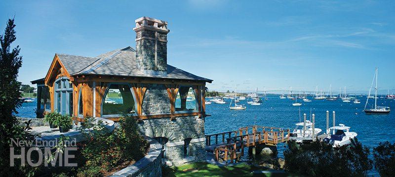 Newport boathouse chimney
