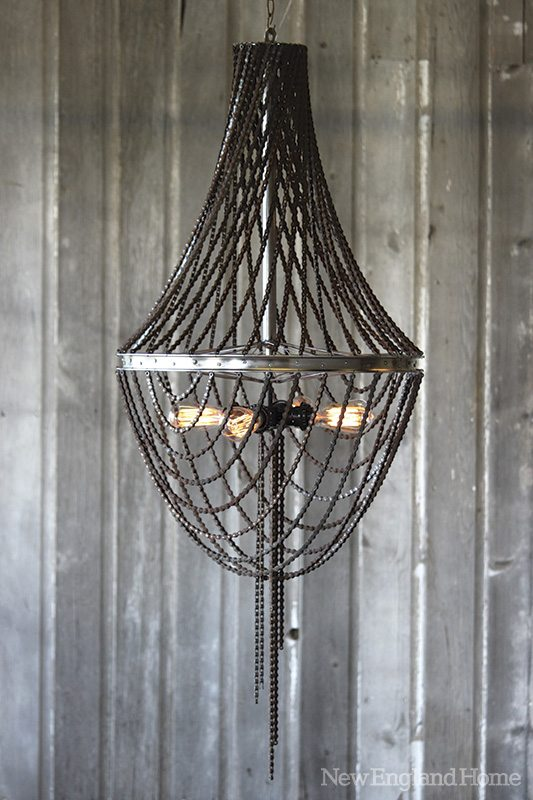 Chandi's Borah chandelier: classic silhouette, edgy execution