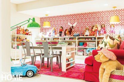 Jill Goldberg kids room