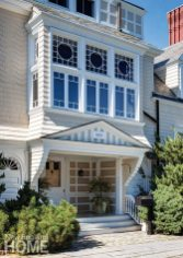Grand inside and out, this stately 1885 former summer home in Manchester-by-the-Sea, Massachusetts, retains its historic charm.