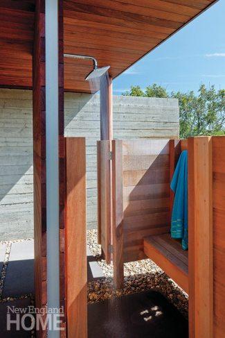 Mark Hutker outdoor shower