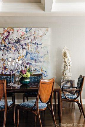 Terrat Elms dining room