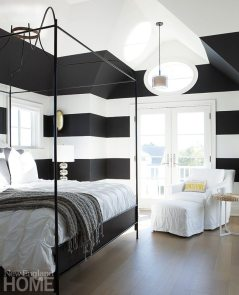 Contemporary Martha's Vineyard home guest room