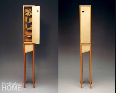 Leah Woods cloth cabinet