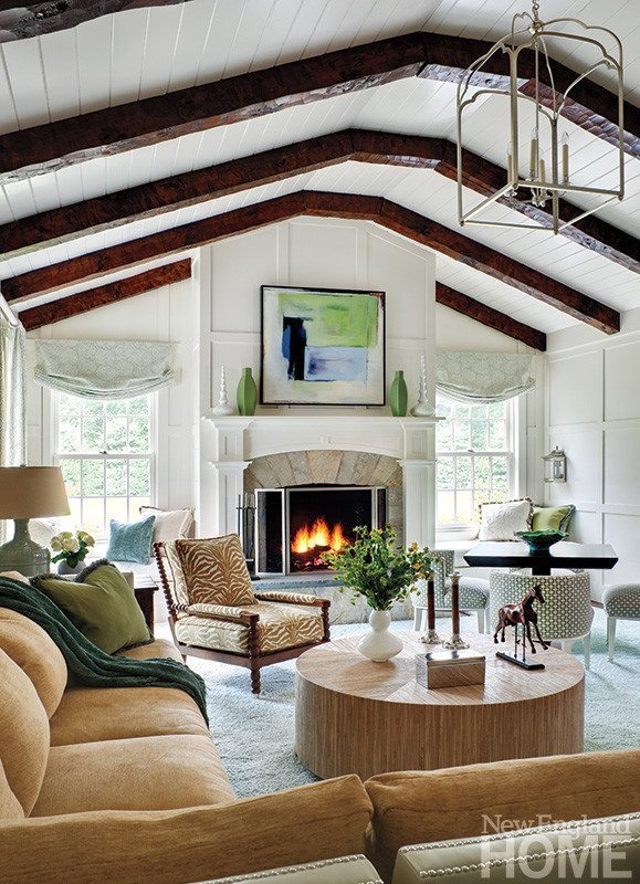The Awesome New England Bedroom Design Intended For Fortable