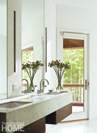 Brian Mac at Birdseye Desig dual sink bathroom