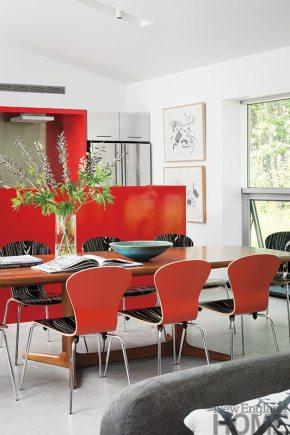 Elliot + Elliot Architecture dining room