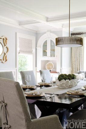 An Organized Nest and Tricia Roberts dining room