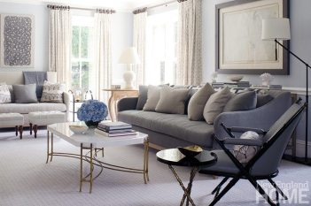 An Organized Nest and Tricia Roberts living room