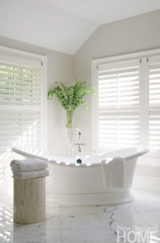 An Organized Nest and Tricia Roberts master bath