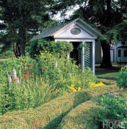 Roseland Cottage garden