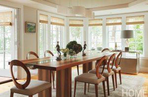 John DaSilva dining room