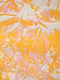 Floribunda: Pink (2013), solar etching, 22″H × 15″W