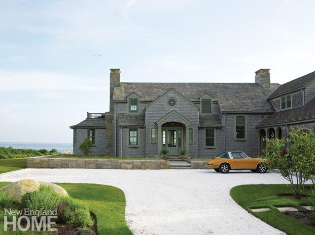 Rhode Island coast cottage