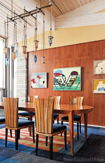 Andra Birkerts dining room