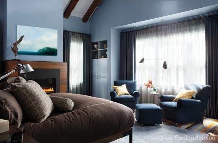 Kristen Rivoli Interior Design master bedroom