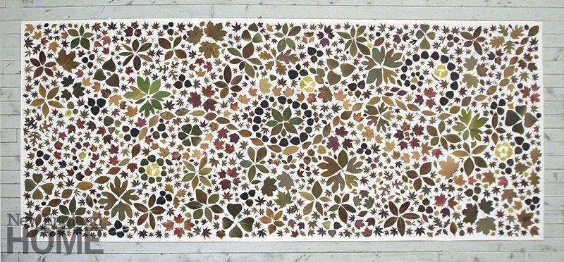 Joan Backes Carpet of Leaves