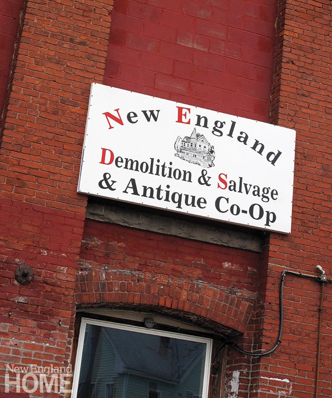 New England Demolition and Salvage and Antique Co-op