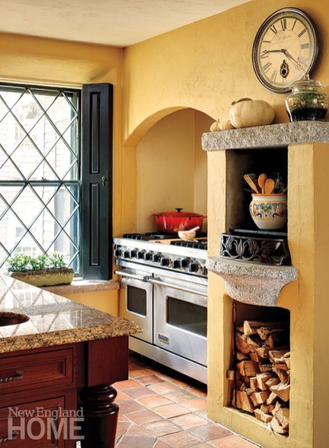 Concord Stone house kitchen