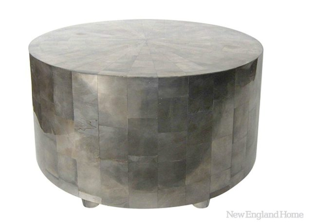 The Adeline table from Oly Studio adds a bit of contemporary shimmer to a room.