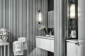 Gray Marble Bathroom Roseff