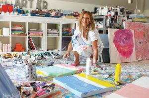 In Living Color: A Connecticut Artist Makes Her Home Her Canvas