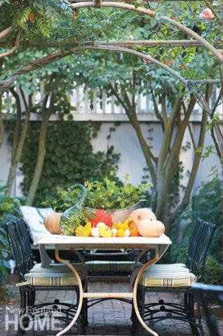 Nancy Serafini courtyard