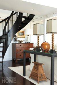 Sheridan Interiors black stairs