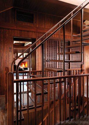C & J Katz studio stairs