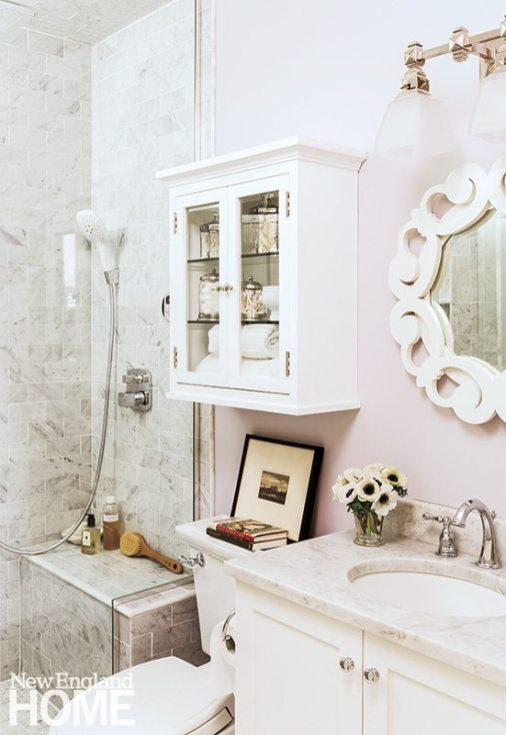 South End apartment designed by Nancy Serafini bathtub