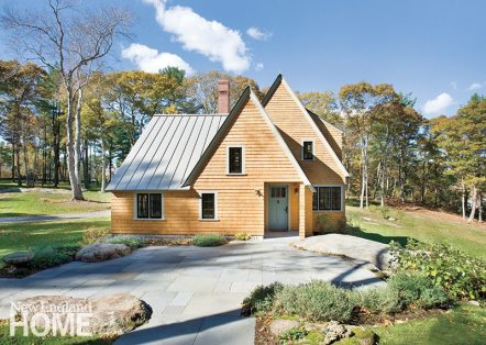 Architect Sally A. DeGan fully endorses the trend toward smaller, but choicer, houses.