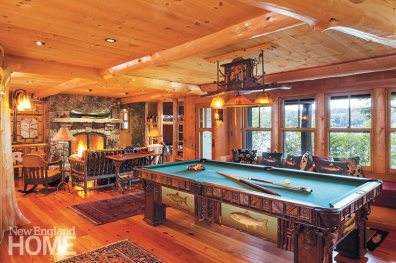 Christopher P. Williams Architects pool table
