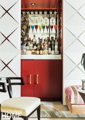 Back Bay condo for art collectors Venetian glass