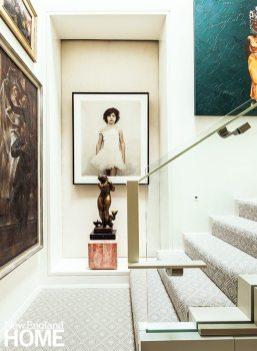 Back Bay condo for art collectors cibachrome print