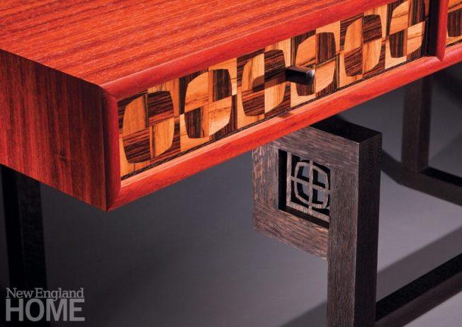 Brian Reid Tartan Desk