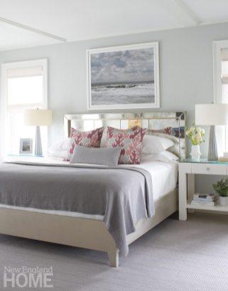 Nantucket Shingle Style Bedroom