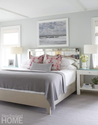 Nantucket Shingle Style Bedroom