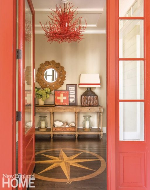 CapeCod Family Compound Entryway