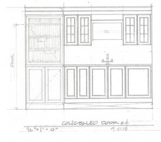 6 concealed door option 4_ Wilson Kelsey Design