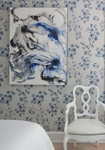 Lynne Scalo Blue and White Room