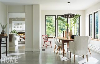 Farmhouse Modern Mitra Designs Dining Room
