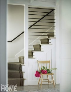 Farmhouse Modern Mitra Designs Staircase