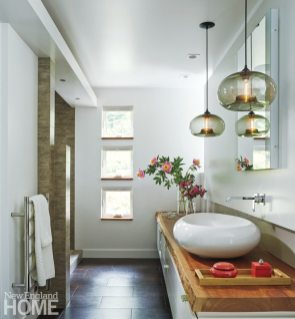 Farmhouse Modern Mitra Designs Bathroom