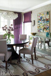 Riverside Transitional Muse Interiors Dining Room