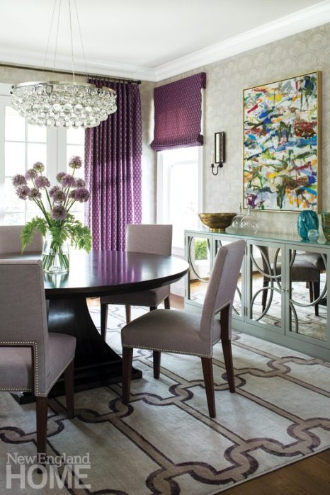 Riverside Transitional Muse Interiors Dining Room