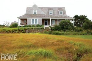 Contemporary Nantucket Shingle Style Porches