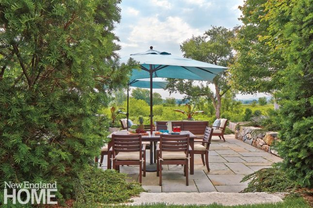 Jim Douthit Patio Dining Area