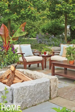 Jim Douthit Outdoor Seating Area