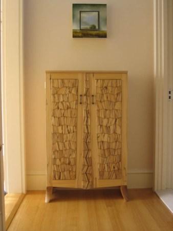 Cabinet, spalted elm