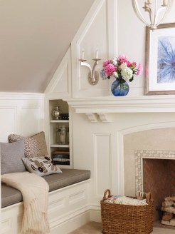 Country Club Homes Shingle Style Reading Nook